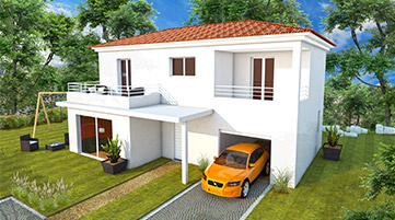Vente maison neuve Corse