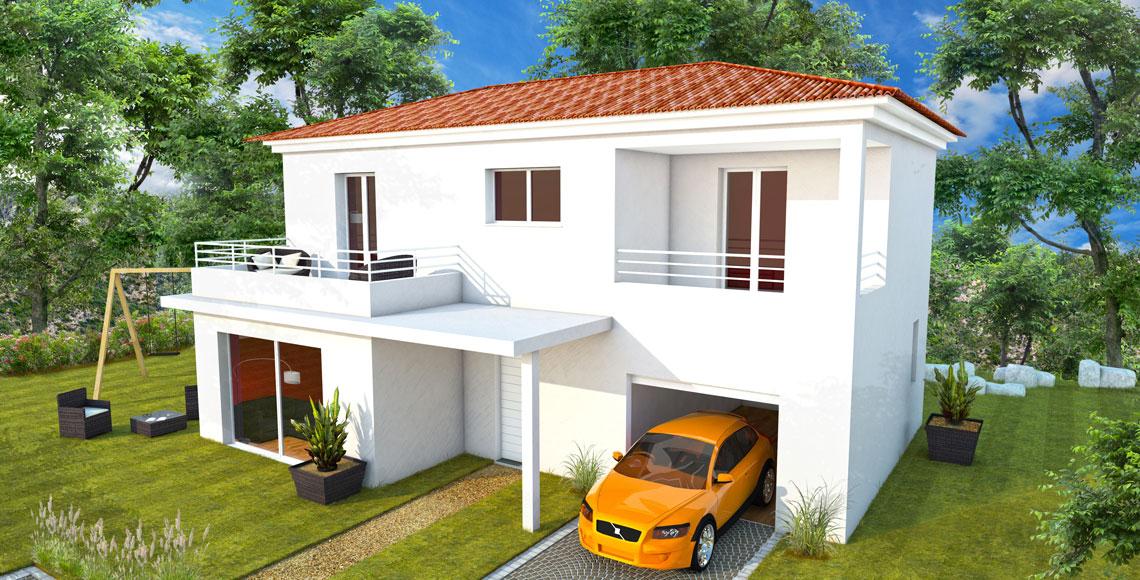Villa individuelle sur deux niveaux Elba 100
