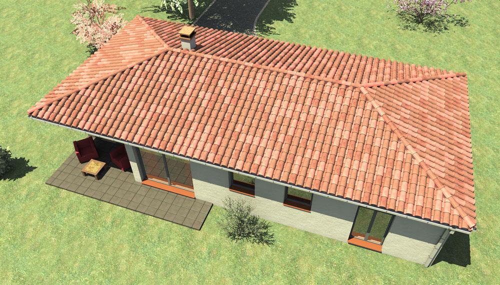 Construction maison individuelle type Montechristo 70