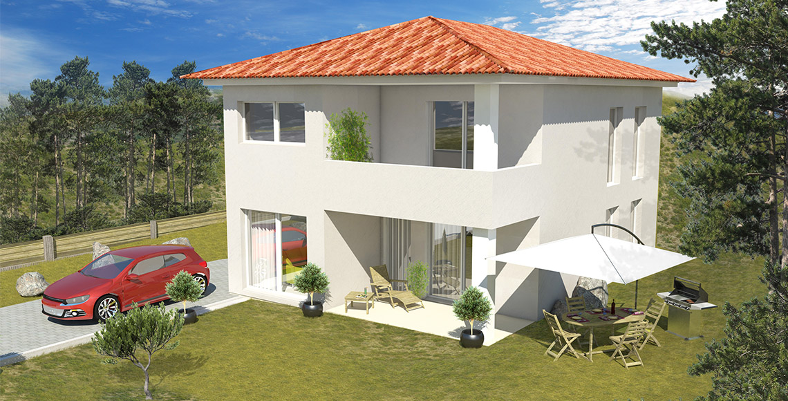 Villa Individuelle ELBA 93 m2